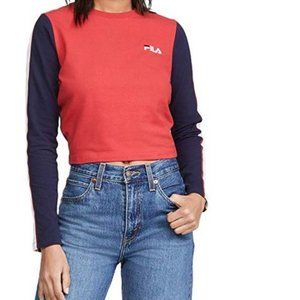 Fila Anouk Long Sleeve Crop Top